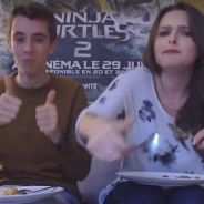 Chakeup et Théo Gordy mangent la pizza la plus bizarre du monde pour Ninja Turtles 2 🍕