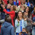 Les femmes des Bleus pendant le match France-Islande le 3 juillet 2016