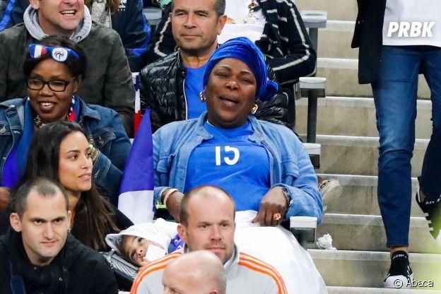 Paul Ogba : sa maman dans les tribunes pendant le match France-Islande le 3 juillet 2016