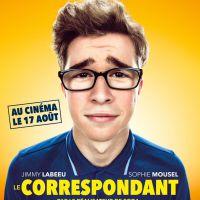 Jimmy Labeeu au cinéma : première affiche du film Le Correspondant