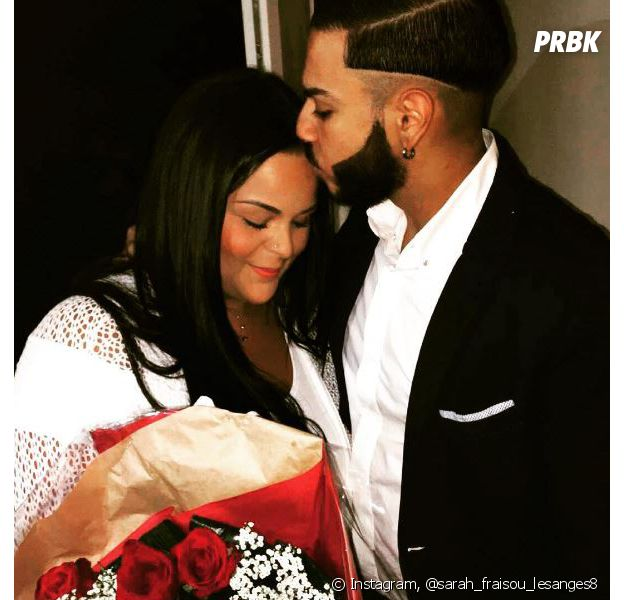 Sarah Fraisou des Anges 8 et Malik fiancés ce vendredi 8 juillet 2016, bientôt le bébé ?