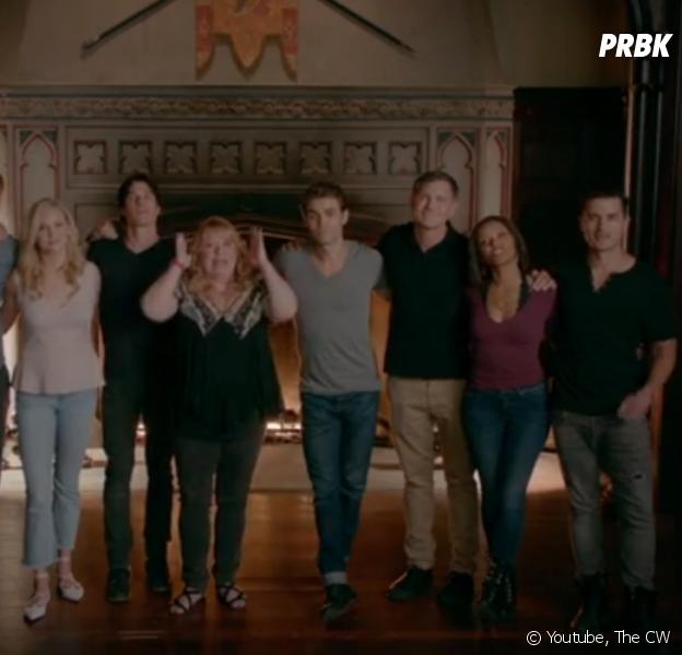 A l'approche de la fin de The Vampire Diaries, Ian Somerhalder, Kat Graham, Paul Wesley, Candice King ou encore Michael Malarkey ont fait leurs adieux...