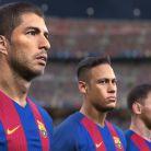 Le FC Barcelone en force dans PES 2017.
