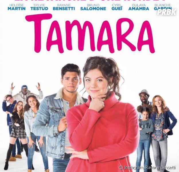 Rayane Bensetti sur l'affiche du film Tamara, au cinéma le 26 octobre 2016
