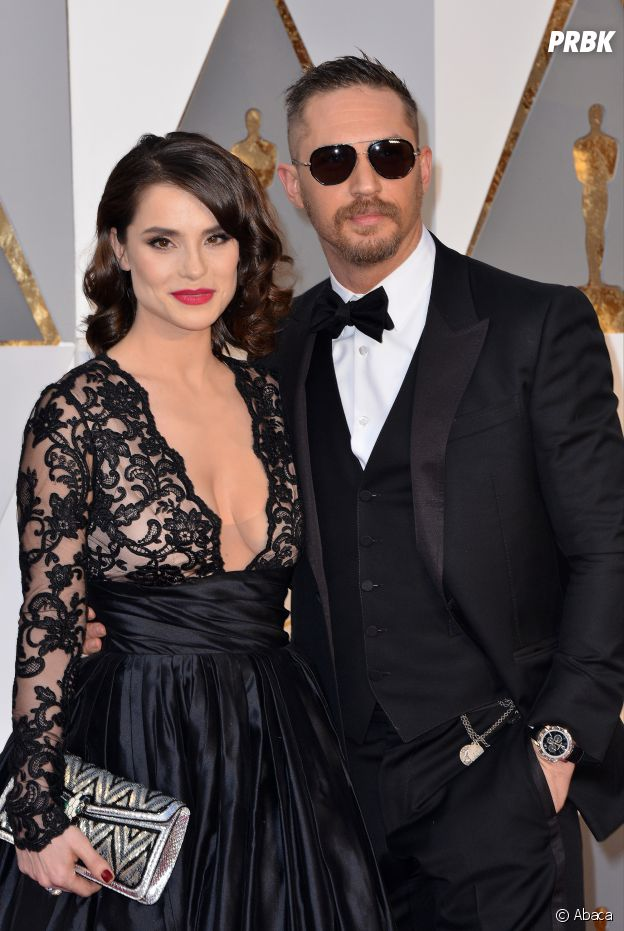 Tom Hardy et sa femme Charlotte Riley
