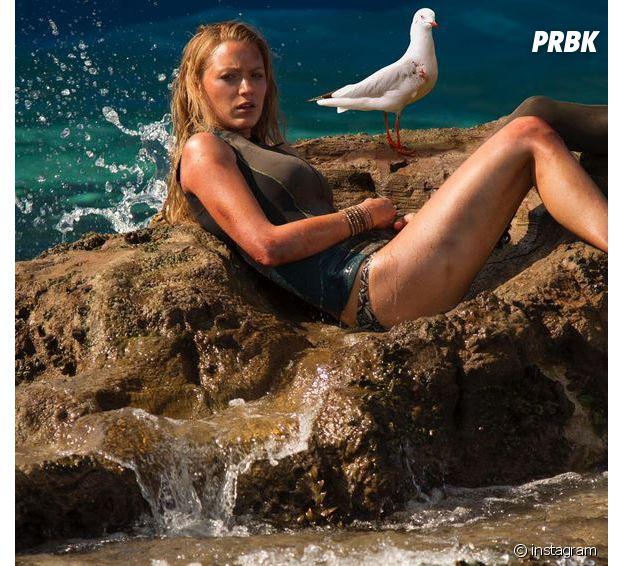 Blake Lively en bikini pour Instinct de Survie