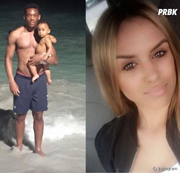 Anthony Martial et Samantha Martial : leur fille Peyton moquée sur les réseaux sociaux.