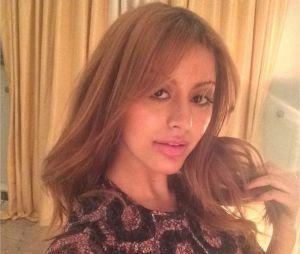 Zahia Dehar avant sa transformation capillaire