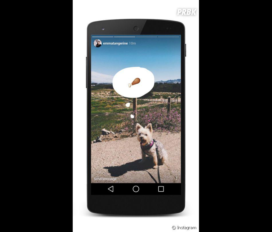 Avec Instagram Stories, postez des photos éphémères.