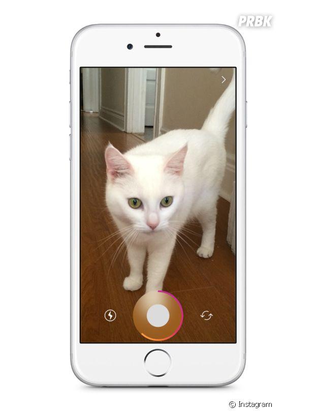 Comme avec Snapchat, Instagram Stories vous propose de customiser vos photos.