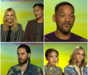 Suicide Squad : Will Smith, Jared Leto, Margot Robbie... les acteurs en interview