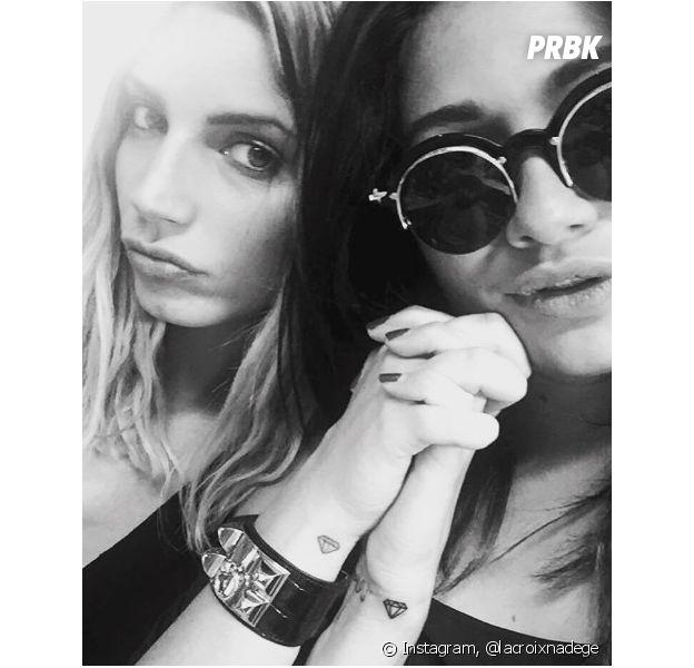 Nadège Lacroix et Laurie Marquet dévoilent leur tatouage commun