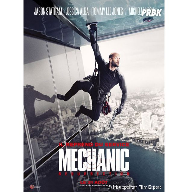 Mechanic Resurrection : l'affiche du film.