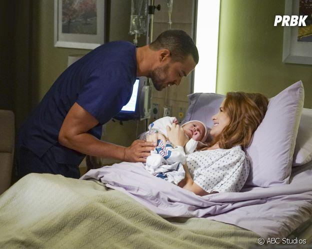 Grey's Anatomy saison 13 : April (Sarah Drew) et Jackson (Jesse Williams) sur une photo de l'épisode 1