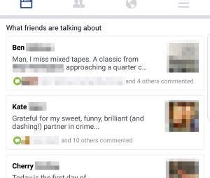 Facebook : bientôt un mur avec seulement les posts de vos amis ?