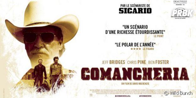 Comancheria : l'affiche du film