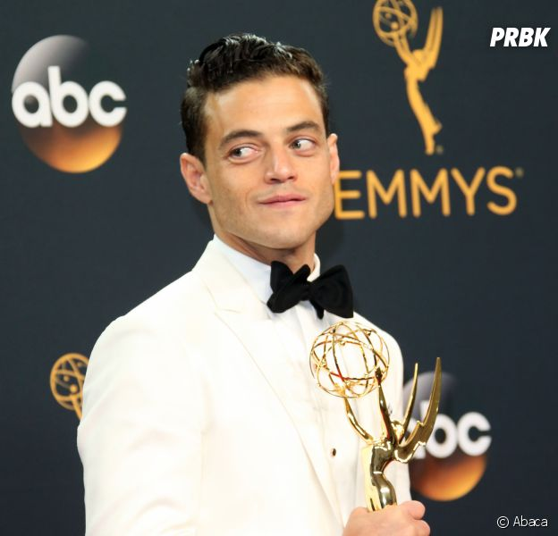Rami Malek gagnant aux Emmy Awards 2016