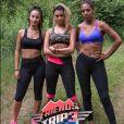 Friends Trip 3 :Mélanie Da Cruz entourée de Nadège et Estelle