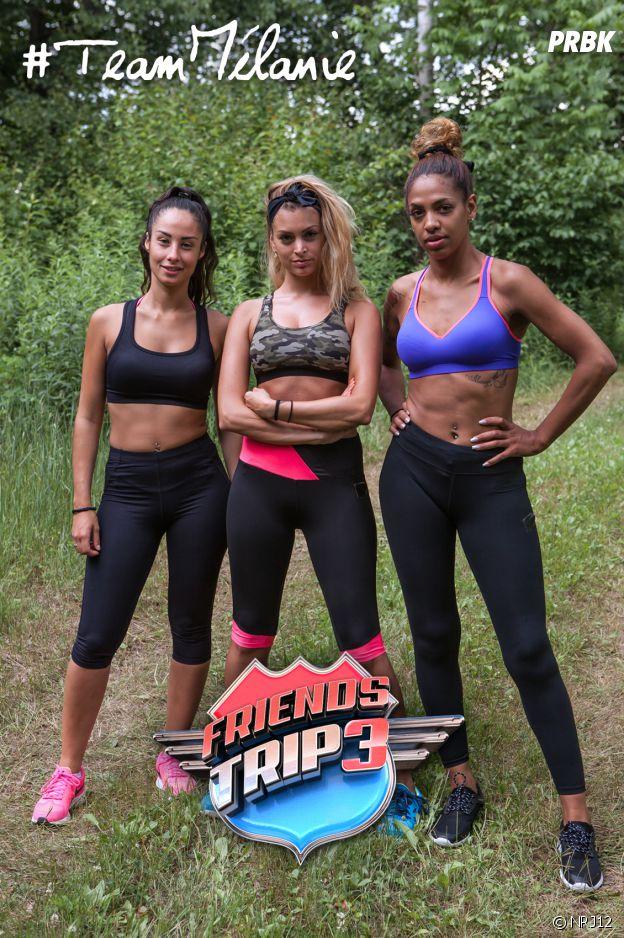 Mélanie, Estelle et Nadège dans Friends Trip 3
