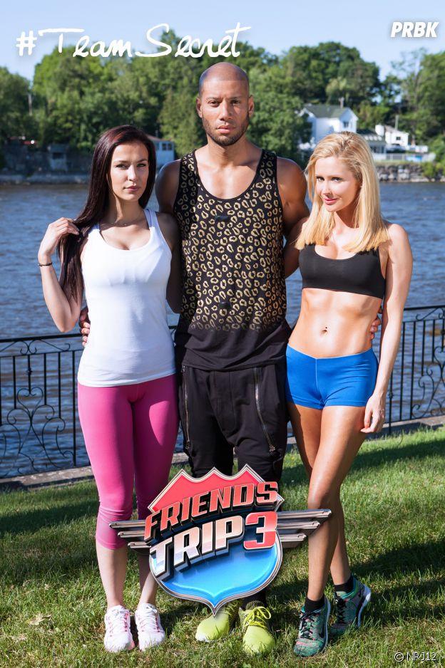 Tatiana, Xavier et Julie Ricci dans Friends Trip3