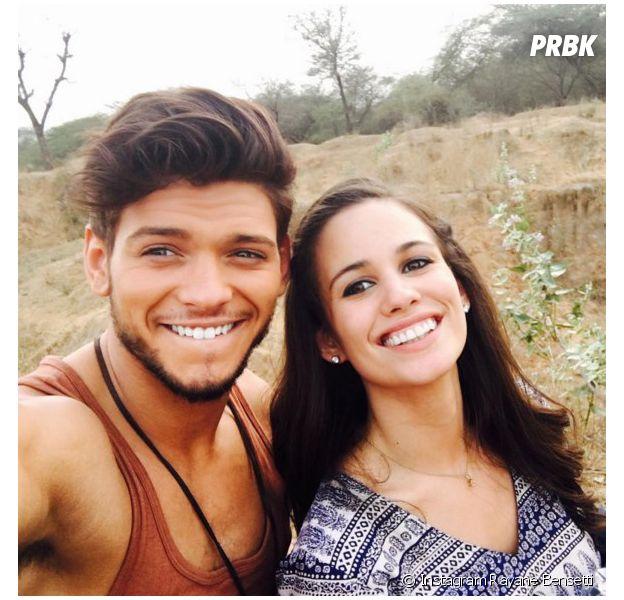 Rayane Bensetti et Lucie Lucas : moment gênant et fou rire pour une scène de baiser