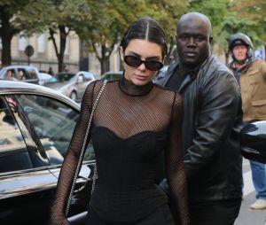 Kendall Jenner dans les rues de Paris
