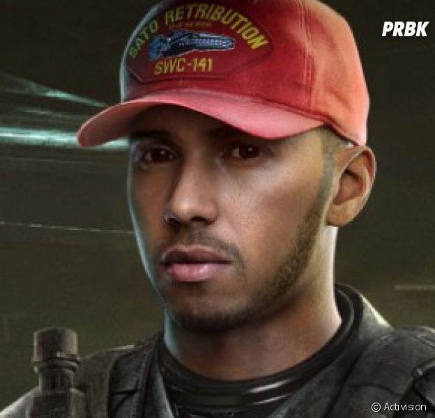 Lewis Hamilton dans Call of Duty : Infinite Warfare