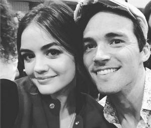 Pretty Little Liars saison 7 : Lucy Hale et Ian Harding sur le tournage du dernier épisode