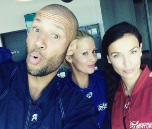 Xavier Delarue, Tatiana Laurens et Julie Ricci dans Friends Trip 3