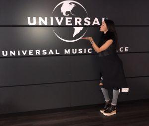 Nabilla Benattia chez Universal Music France