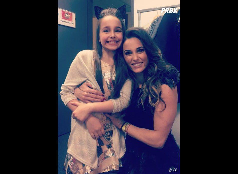 TPMP Chantez comme jamais : Capucine Anav et Manuela la gagnante de The Voice Kids 3.