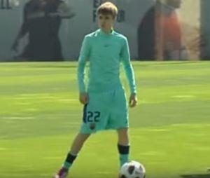 Justin Bieber était déjà venu au Barça en 2011 pour un entraînement intensif.