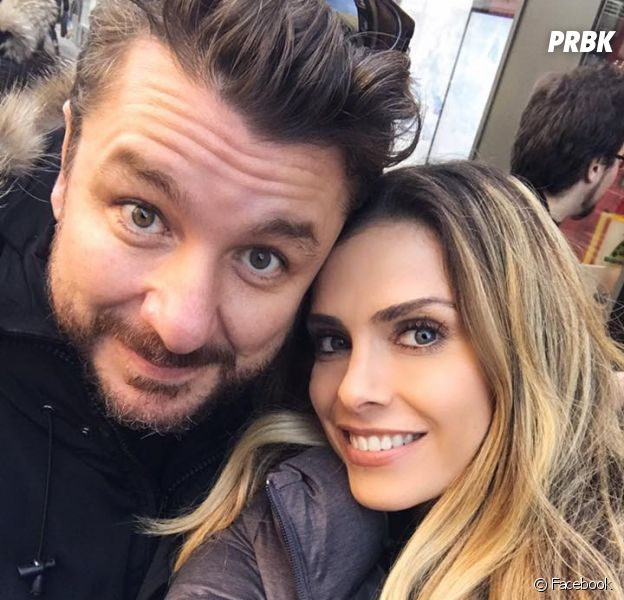 Clara Morgane et Bruno Guillon dévalisent Gigi pour aider l'association Action Froid.