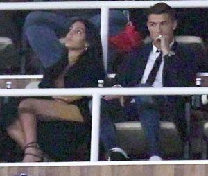 Cristiano Ronaldo et Georgina Rodriguez sont allés voir un match ensemble.