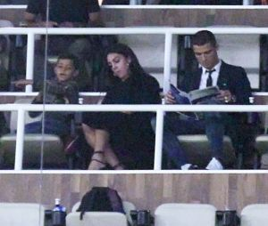 Cristiano Ronaldo et sa nouvelle chérie Georgina Rodriguez.
