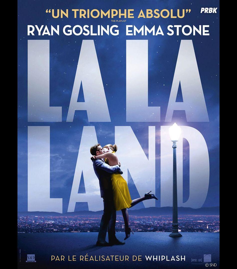 La La Land : l'affiche du film avec Emma Stone et Ryan Gosling