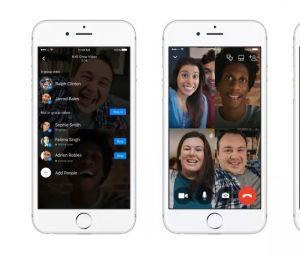 Facebook Messenger lance le chat vidéo à plusieurs.