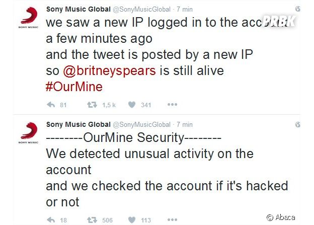 Britney Spears morte ? Sony dément l'information