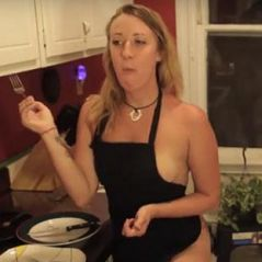 Stéphanie Dail : la youtubeuse qui fait la cuisine... complètement nue ! 🍑