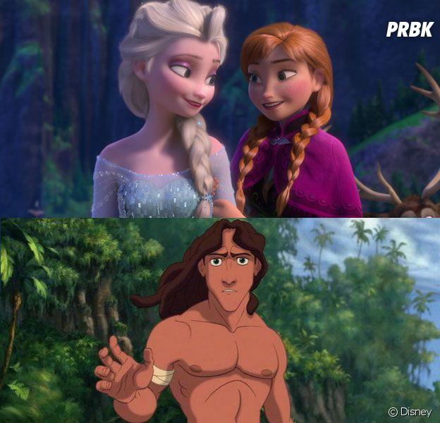 La Reine des Neiges et Tarzan sont-ils liés ?
