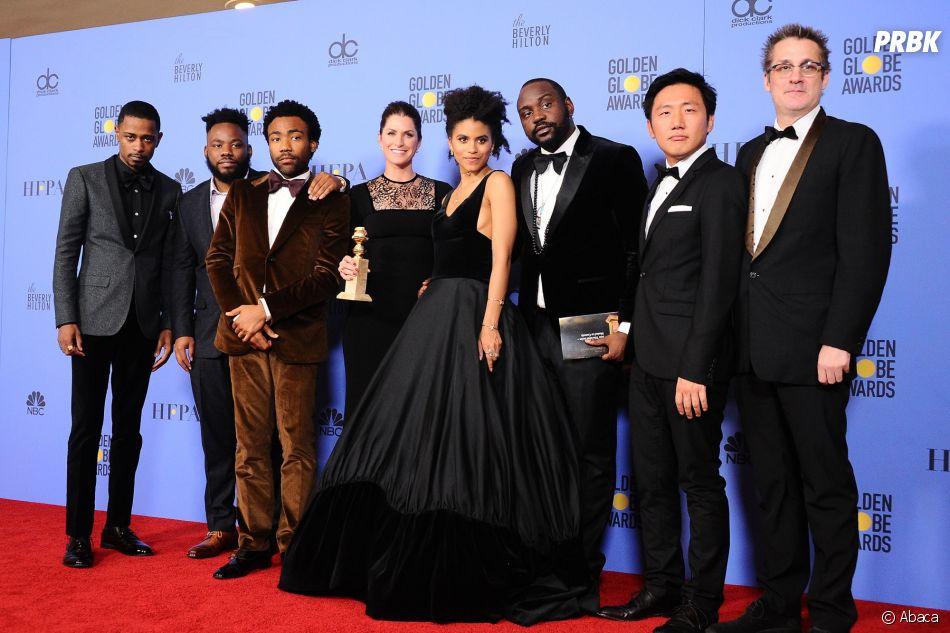 La série Atlanta gagnante aux Golden Globes 2017 le 8 janvier à Los Angeles