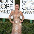 Sofia Vergara sur le tapis-rouge des Golden Globes 2017 le 8 janvier à Los Angeles