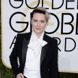 Evan Rachel Wood sur le tapis-rouge des Golden Globes 2017 le 8 janvier à Los Angeles