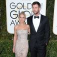 Chris Hemsworth et Elsa Pataky sur le tapis-rouge des Golden Globes 2017 le 8 janvier à Los Angeles