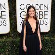 Mandy Moore sur le tapis-rouge des Golden Globes 2017 le 8 janvier à Los Angeles