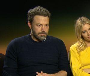 Interview Ben Affleck et Sienna Miller pour Live By Night.