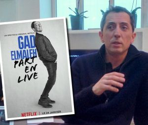 Gad Elmaleh débarque sur Netflix