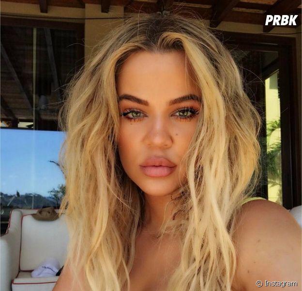 Khloé Kardashian méconnaissable sur un selfie