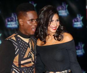 Black M et sa femme Lia aux NRJ Music Awards 2016