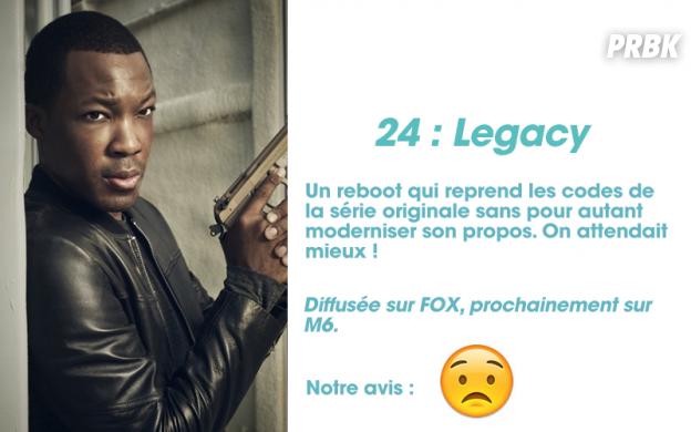 24 Legacy : notre avis sur la série
